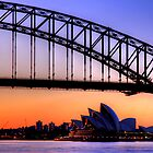 Harbour Bridge, Opera House by Arfan Habib