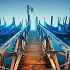 Gondolas, Venice - Italy by fineartphoto1