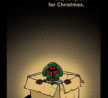 Fett for life, not just Christmas (iPhone) by Malc Foy