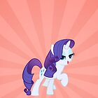 Rarity Fabulosity Iphone Case by carnivean