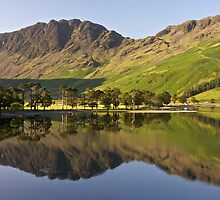 Reflections - Buttermere in Summer by Annabelle Studholme