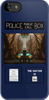 The Doctor Is In ! ( iPhone Case ) by PopCultFanatics