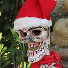 La Catrina as Santa Claus, Puerto Vallarta, Mexico by PtoVallartaMex