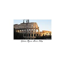 Colosseo, Roma, Italy by chiaraggamuffin