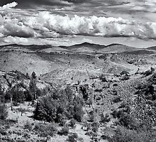 Pogue Mountain Panorama by Bryan Peterson