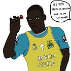 Mario 'The Power' Balotelli by flaminghdstore
