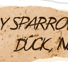 Sally Sparrow, duck now! Sticker