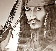jack sparrow by niccolae