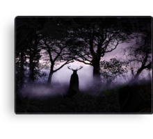 Shadow of Herne Canvas Print