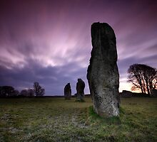 Avebury Guardians by Angie Latham