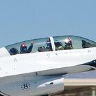 USAF Thunderbirds #8 Fist Pump Tight Shot by Henry Plumley