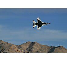 USAF Thunderbirds Solo Minimum Radius Turn Photographic Print