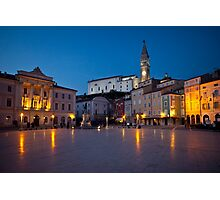 Evening in Piran Photographic Print