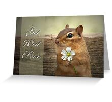 Chippy - Get Well Soon Card Greeting Card