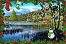 Christmas On the Rainbow River by AuntDot
