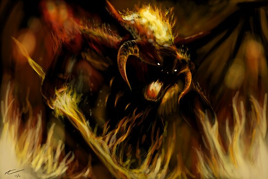 Balrog by Alexander Churches