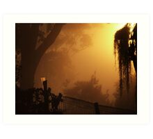 Mist & Gauge.... Art Print
