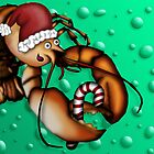 Lobster Claus by Lee Leplaw Deichmann