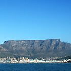 Cape Town and Table Mountain by Rob Chiarolli