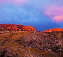 Mt Lyall, Queenstown, Tasmania, Australia, sunset by wearehouse