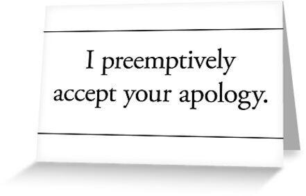 Cards for Engineers - You&#x27;re sorry by Tim Norton