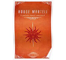 House Martell Poster
