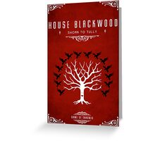 House Blackwood Greeting Card