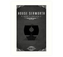 House Seaworth Art Print