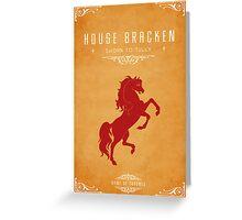 House Bracken Greeting Card