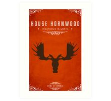 House Hornwood Art Print