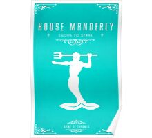 House Manderly Poster