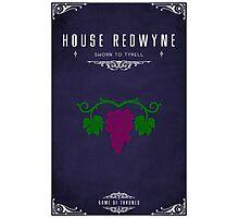 House Redwyne Photographic Print