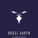 House Arryn Minimalist Poster by liquidsouldes