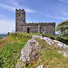 Brentor Church - Dartmoor, Devon by Dave Lawrance