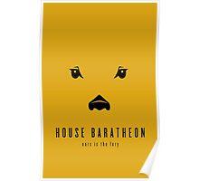 House Baratheon Minimalist Poster Poster