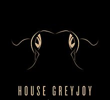 House Greyjoy Minimalist Poster by liquidsouldes