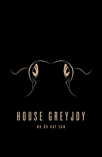 House Greyjoy Minimalist Poster by liquidsouldes
