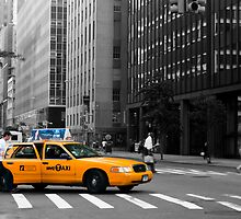 New York Taxi by Slawomir  Piasecki