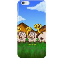 Singing Cows iPhone Case/Skin