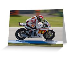 Marco Simoncelli in Assen 2011 Greeting Card