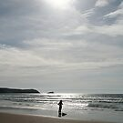 Fistral Beach, Cornwall by RH-prints