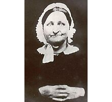 Smile, Mrs. Simmons ~ From A Daguerreotype Photographic Print