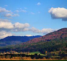 mountain landscape by Daidalos