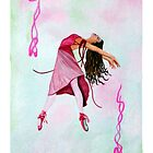 Ballet in Pink iPhone Case by Sandra Gale