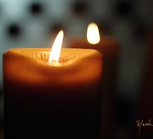 Candle and flame by Marcelino2012