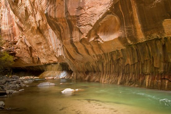 Zion Narrows Slot Canyon by A.M. Ruttle