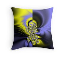 Flared... Throw Pillow