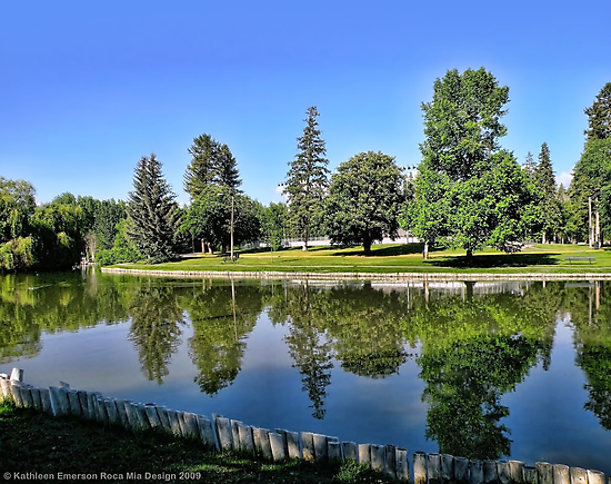 Woodland Park - Kalispell, Montana (USA) by rocamiadesign