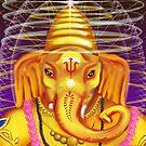 Ganesha and Helmet by yohanna