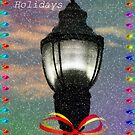 Happy Holiday's Lamppost by kkphoto1